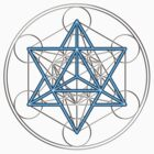 Merkaba, Metatrons Cube, Sacred Geometry, Star Tetrahedron by nitty-gritty
