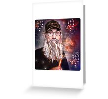 Uncle Si is Surprised Greeting Card