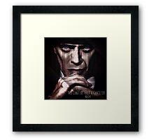 Nucky Goes All In Framed Print