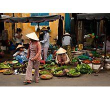 Hoi An Market Photographic Print