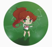 "3.0"" Sailor Jupiter Chibi Sticker by AndreaJacqLee"