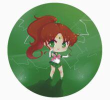 "3.0"" Sailor Jupiter Chibi Sticker by AndreaJacqLee"