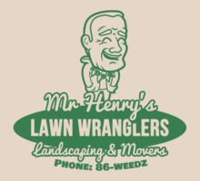 Bottle Rocket Lawn Wranglers  by Tabner