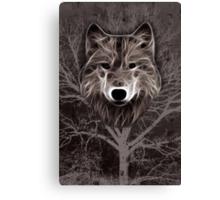 Spirit of the Wolf Canvas Print