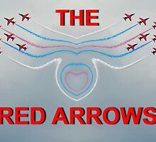 Red Arrows Poster by relayer51