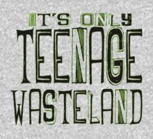 Baba O'Riley The Who Teenage Wasteland T-Shirt by geekchicprints