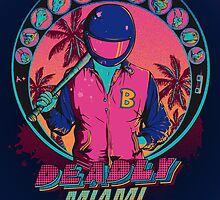 Deadly Miami by Donnie Illustration