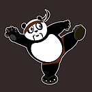 Martial Arts Panda 2 - Brown by Adamzworld