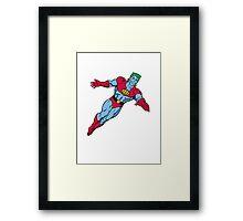 Captain Planet Framed Print