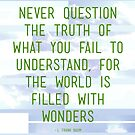 The World Is Filled With Wonders by brian fuchs
