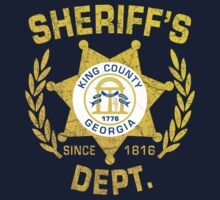 King County Sheriff Dept - Rick's Tee by thehorror