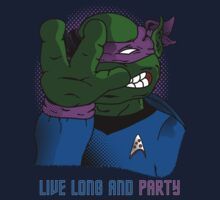 Live Long and Party! - Purple by BanzaiDesigns