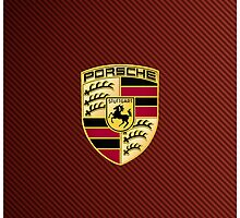Porsche Red Carbon by Picshell80