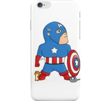 Cat Rescuing Superheroes iPhone Case/Skin
