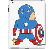 Cat Rescuing Superheroes iPad Case/Skin