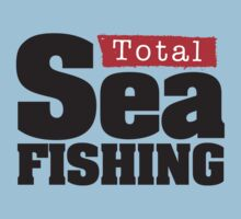 Total Sea Fishing logo (black) by dhpublishing