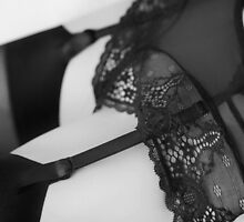 Suspenders and French Lace by Dave Hare