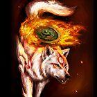 Okami wolf realistic style by NZwolf