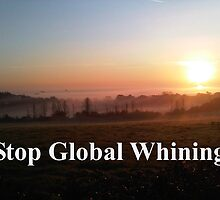 Sayings 'Stop Global Whining' by BBBango