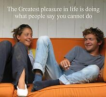 Sayings 'Pleasure in Life' by BBBango