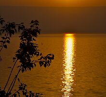 Sunrise over Sea of Galilee by Revd Andy Barton