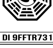 Dharma Initiative Child - LOST Sticker