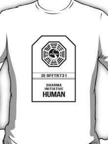 Dharma Initiative Human - LOST T-Shirt