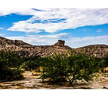 The View From My Car In Arizona 1 Photographic Print