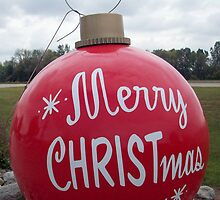 Bronner's - Parking Lot Christmas Bulb by Francis LaLonde