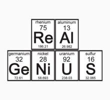 Elementary Real Genius by waywardtees