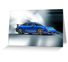 2013 Porsche Turbo Greeting Card