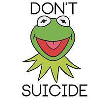DON'T KERMIT SUICIDE Photographic Print