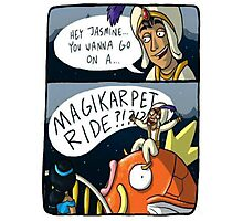 MAGIKARPET RIDE Photographic Print