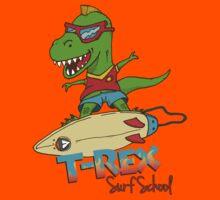 T-Rex Surf School by marcodeobaldia