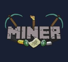 Minecraft Miner Shirt by YanaiTheFIRST