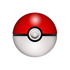 Pokeball White - iPhone by keirrajs