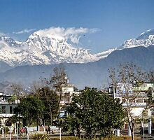 Himalaya at Pokhara by V1mage