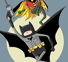 Batman & Robin by TrentCurtis