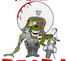 Zombie Cop by Skree