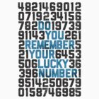 Do You Remember Your Lucky Number by williamhenry