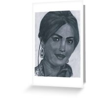 Priyanka Chopra Greeting Card