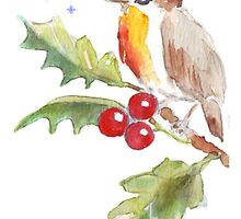 Season's Greetings! 1 Little bird (1) by Maree  Clarkson