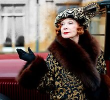 Shirley MacLaine @ TV serie Downton Abbey  by Gabriel T Toro