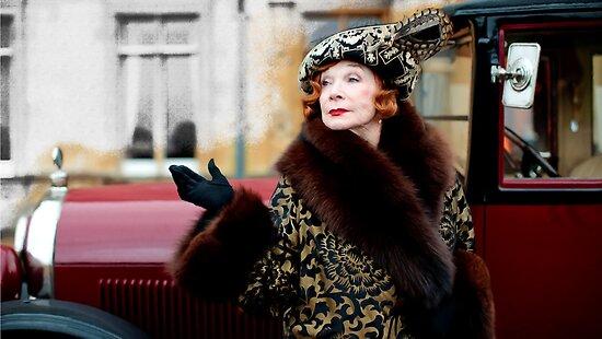 Shirley MacLaine @ TV serie Downton Abbey  by Gabriel T Toro