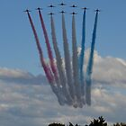 The Red Arrows 3/3 by Neville Hawkins