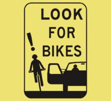Warning Sign: Look Out for Bicycles (lite) by KraPOW