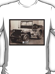 E506 Jeep HQ Company T-Shirt