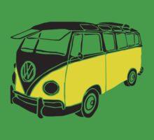 Volkswagen Samba Bus Typ 1 by Flyinglap