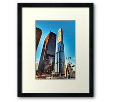 Trump Tower Chicago Framed Print