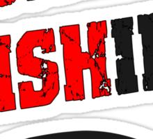 Redneck Fishin Sticker